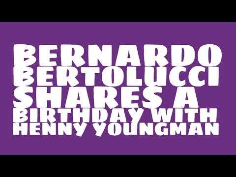 What was Bernardo Bertolucci's astrological sign?