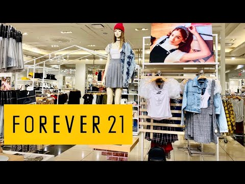 FOREVER 21 SHOP WITH ME