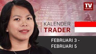 Kalender Trader untuk 3-5 Februari: Akankah USD mendapatkan posisinya kembali?