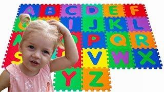 ABC Song | ALISA learns English Alphabet with Nursery Rhyme Song