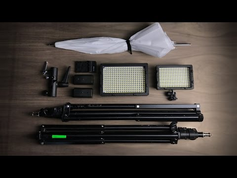 Complete Video Light Kit For $150 And How To Use It