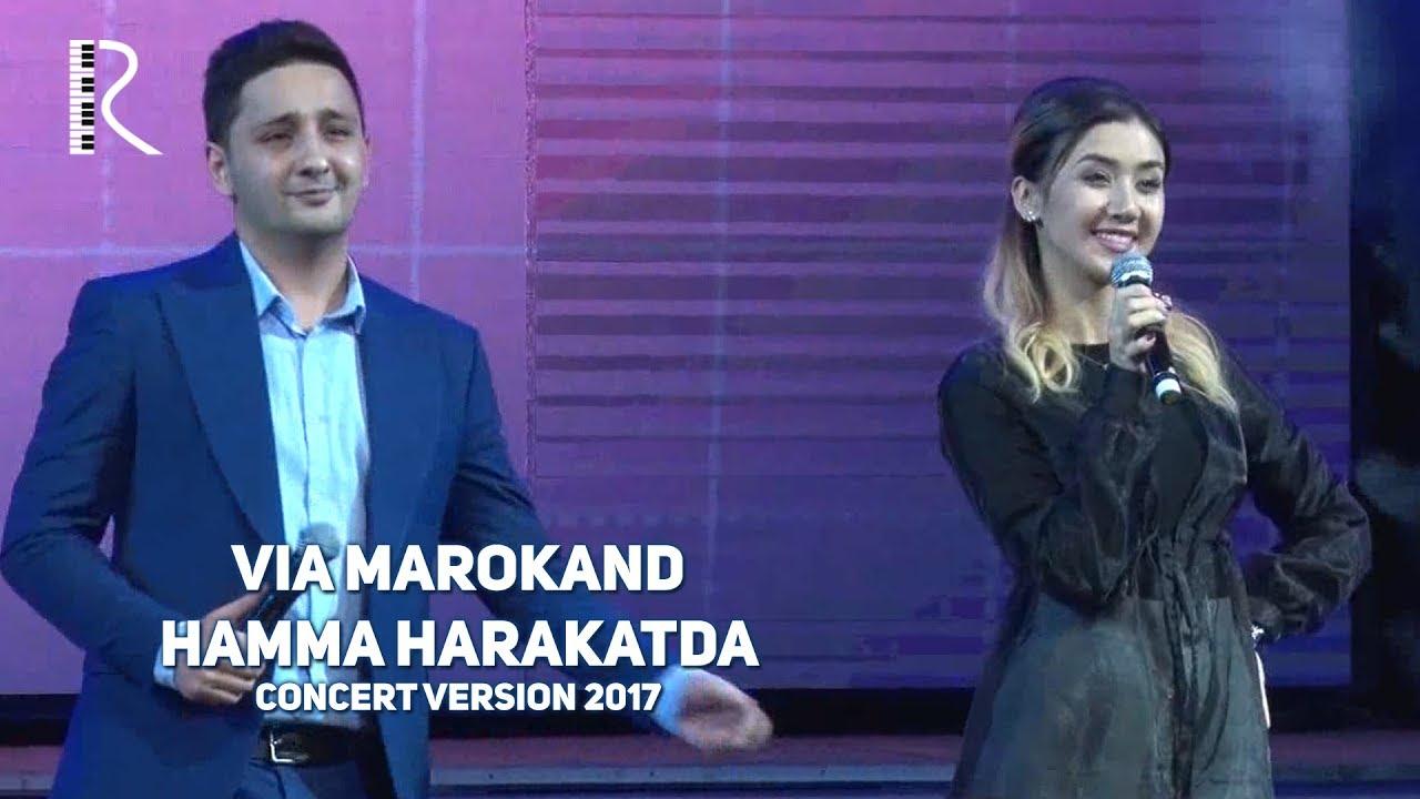 VIA Marokand - Hamma harakatda | ВИА Мароканд - Хамма харакатда (concert version 2017) #UydaQoling