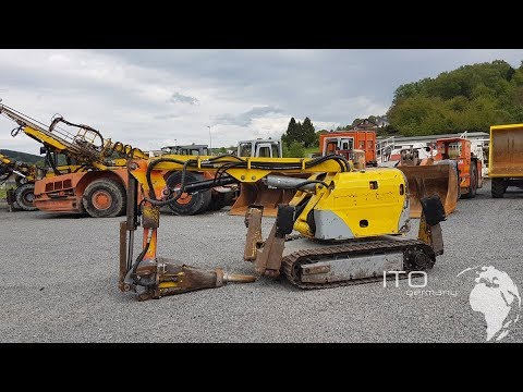 Used Demoliton Excavator For Sale , Brokk  Mining Equipment Low Profile Machine 330