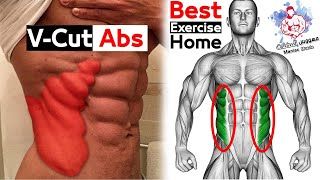 V Cut abs Workout (best 5 Exercise At Home)