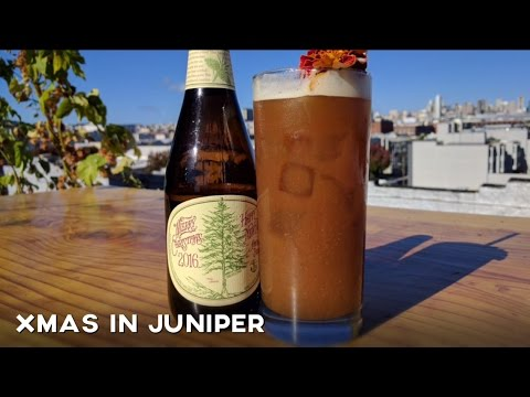 xmas in juniper recipe ft anchor christmas ale and junpero gin - Christmas Ale Recipe