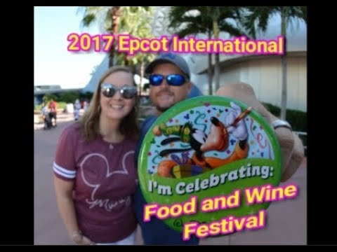 Epcot Food and Wine Festival 2017 Opening Day Tour