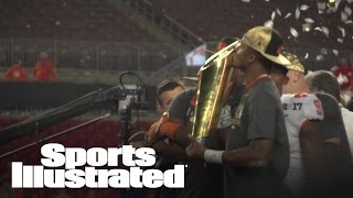 Clemson Tigers Players Celebrate After Toppling Alabama In Instant Classic | Sports Illustrated