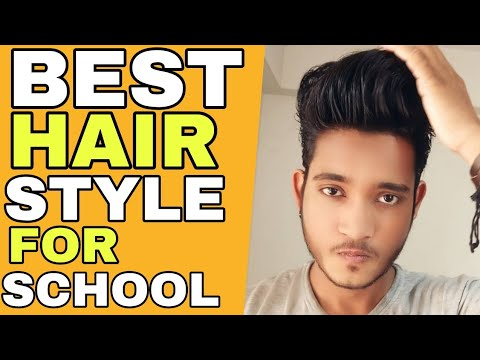 Best School Hairstyle For Your Face Shape Hindi Simple And Stylish Haircut For Indian Boy