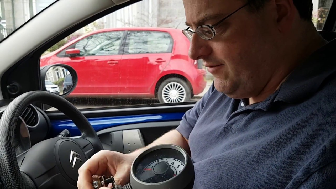 Fitting A Rev Counter To C1 Aygo 107 Youtube Fuse Box On Peugeot
