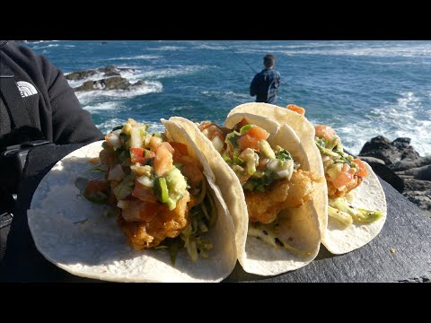 Catch And Cook: BEER BATTER FISH TACOS!!