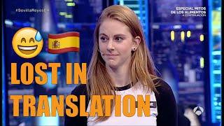 My Spanish talkshow FAIL