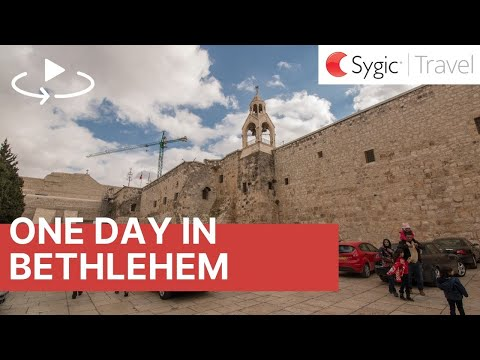One day in Bethlehem 360° Travel Guide with Voice Over