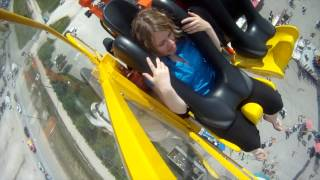 Riding at Mach 3 on the new Red River Ex ride