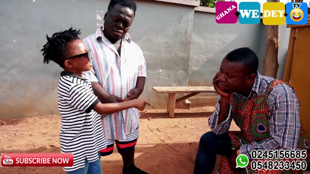 NANA YEBOAH CAUGHT BLIND MAN DON LITTLE LOOKING AT MAA AFIA BIG 3TO)