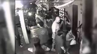CCTV footage shows Shane Looker going...