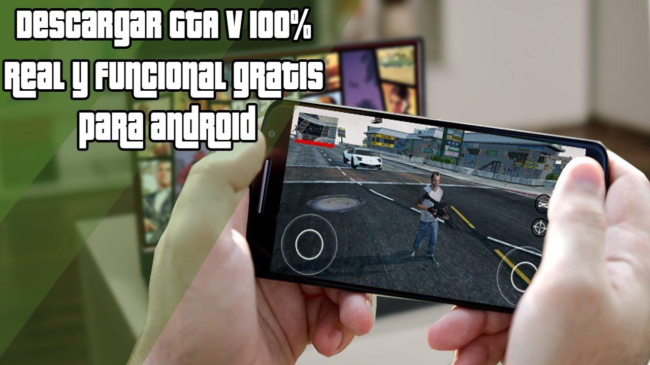 2020//Descargar e instalar GTA V para android| Juega GTA V en tu móvil|Español.