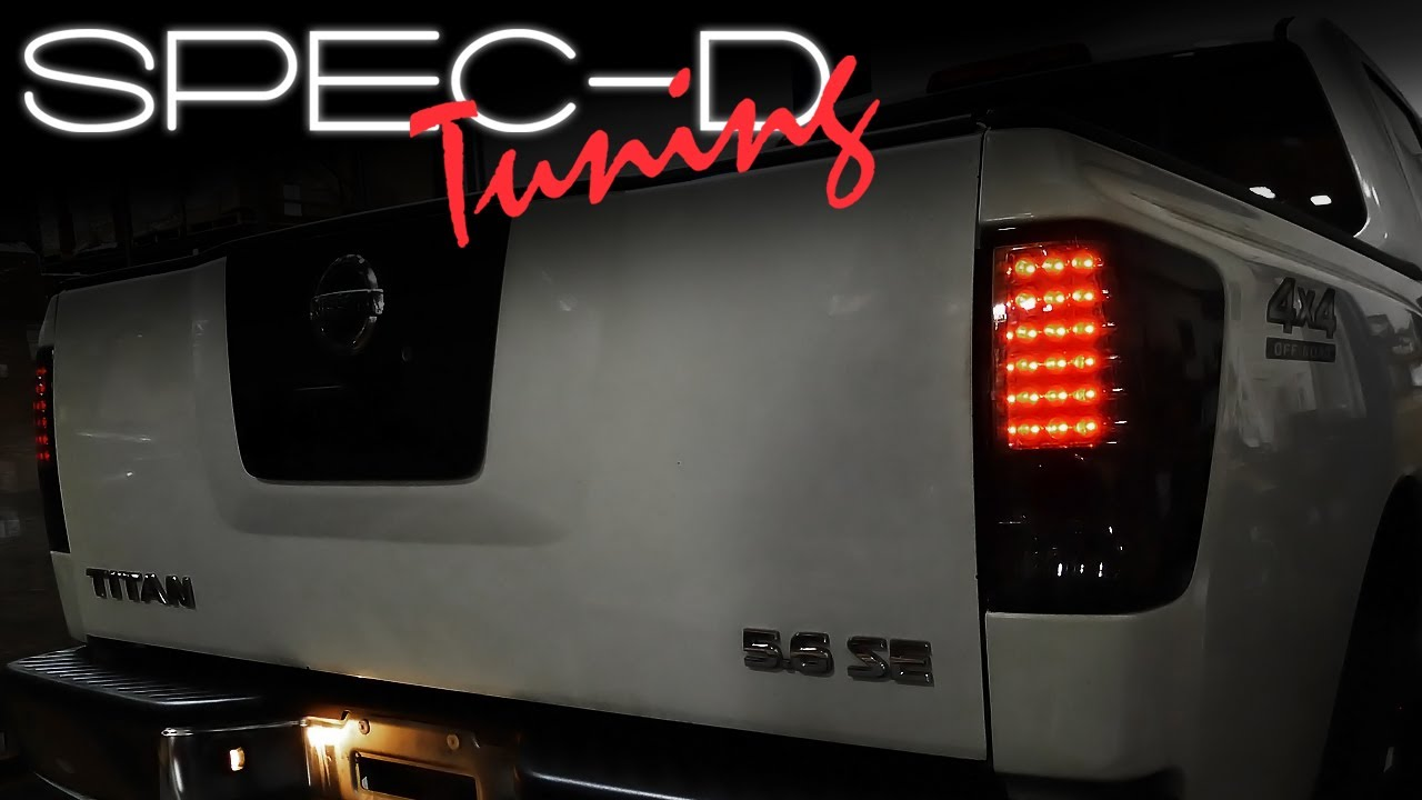 Specdtuning Installation Video 2004 2012 Nissan Titan