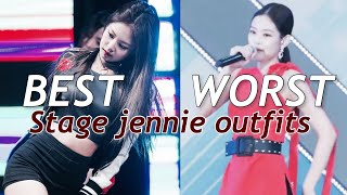 The BEST and WORST jennie outfits [BLACKPINK JENNIE]