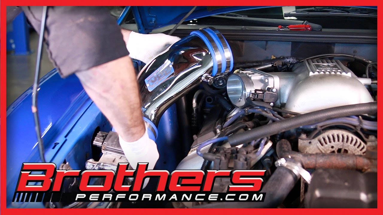 1996 2001 Mustang Cobra Throttle Body And Cold Air Kit Installation