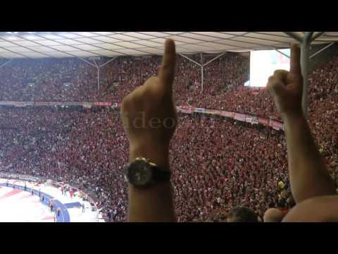 [4-3] Pokalfinale Bayern München - Borussia Dortmund 21.5.2016 Emotionen beim Elfmeterschießen