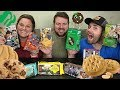 MUKBANG  EVERY GIRL SCOUT COOKIE  REVIEW