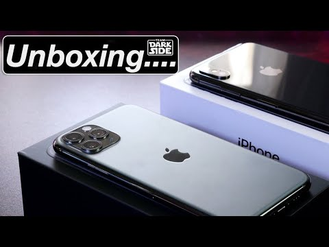 iPhone 11 Pro Unboxing - Gray or Space Gray ?