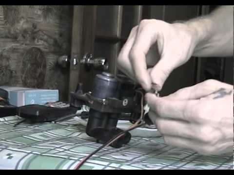 принцип работы клапана печки на мерседесе 124
