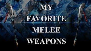 Warframe - My Favorite Melee Weapons (2018)