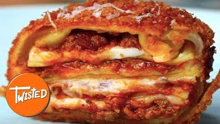 Video How To Make Crispy Lasagna Onion Bombs | Twisted download MP3, 3GP, MP4, WEBM, AVI, FLV April 2018