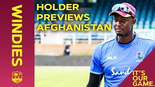 """""""Every Test is Important""""   Holder Previews Afghanistan   Windies Cricket"""