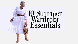 top 10 summer wardrobe essentials