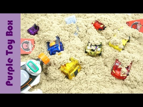 Thumbnail: Mini Car Transformers Are Hidden In The Sand, Let's Find Them Together!