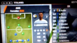 [PSP] fifa 13 carriere : ASSE Europa Leagues