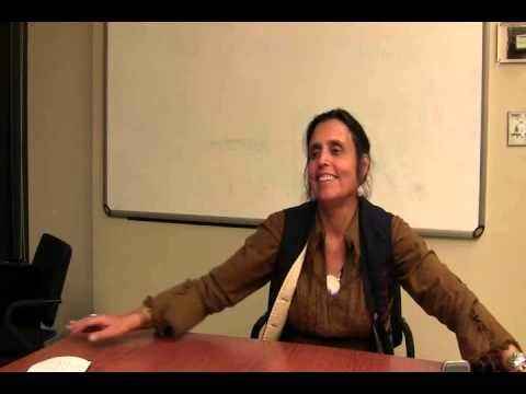 Winona LaDuke media interview at PowerShift Canada 2012
