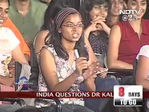 India Questions Dr Abdul Kalam Aired on NDTV Full video