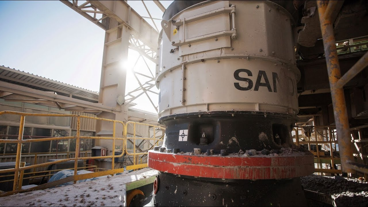 Sandvik Connected Crushing in Chile | Sandvik Mining and Rock Technology