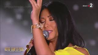Anggun performing Vivre from Notre Dame de Paris (musical)