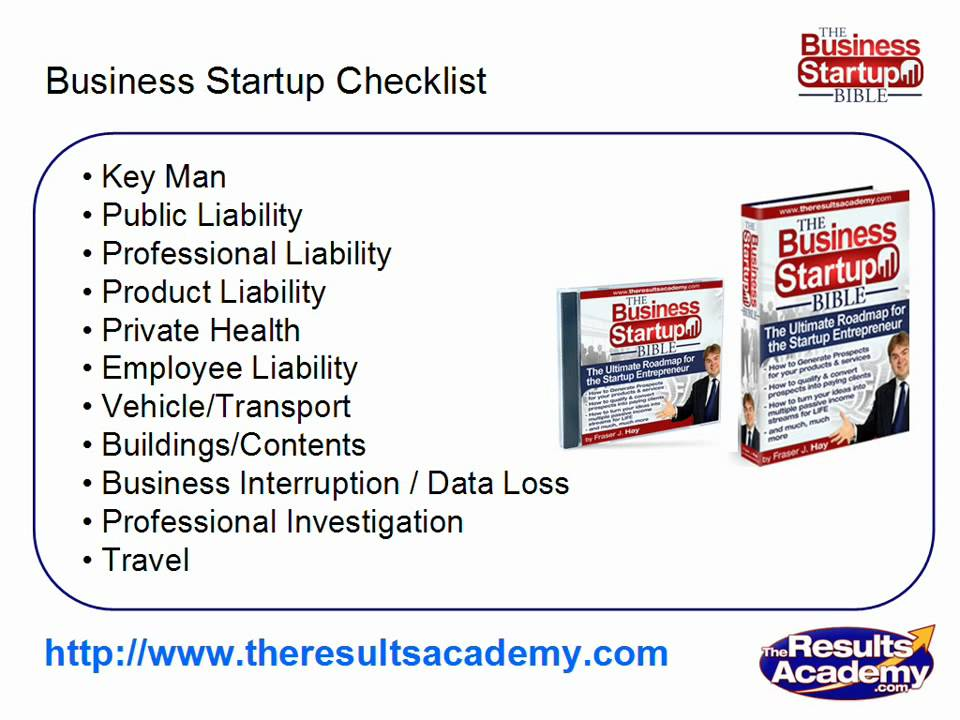 Business Startup Checklist Part 10 - Business Insurance - YouTube