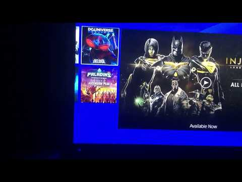 How to download DC Universe online on ps4 in ps3