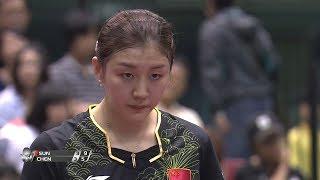 女子シングルス決勝 孫穎莎(中国)vs 陳夢(中国)第7ゲーム