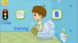 Baby potty games  Toilet training boys and girls  Baby's potty training