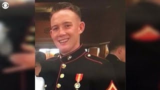 Las Vegas shooting survivor credits Marine with saving her life