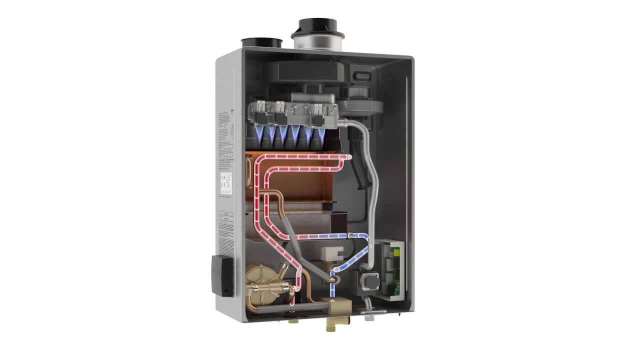 How A Rinnai Tankless Water Heater Works Youtube