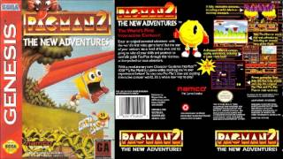 Pac-Man 2: The New Adventures - The Gum Monster (Sega Genesis Version)