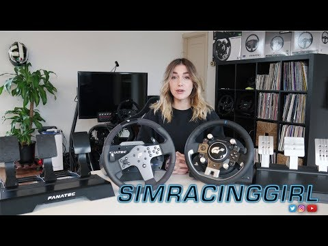 Fanatec CSL Elite PS4 VS Thrustmaster T-GT Comparison by SimRacingGirl