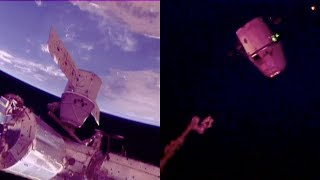 SpaceX CRS-15: Dragon departure from the ISS
