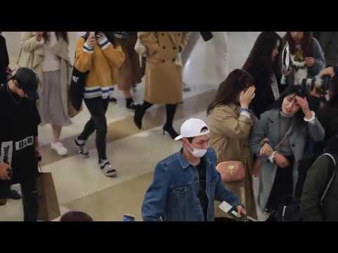 170402 SHINee - Gimpo Airport to Japan