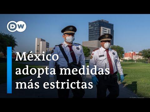 México adopta medidas más estrictas frente a Coronavirus