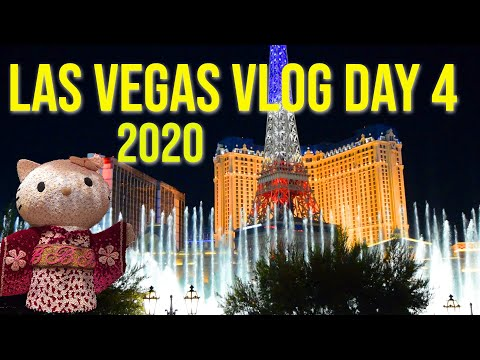 Las Vegas 2020 Vlog Day 4 | Embassy Suites | In & Out | Bellagio