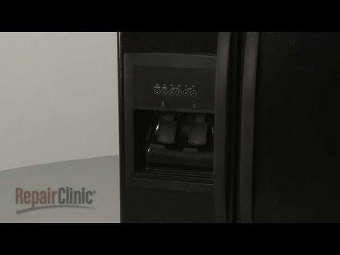 Dispenser Facade - Whirlpool Refrigerator